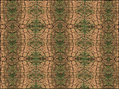 Pattern created with original virtual manipulative