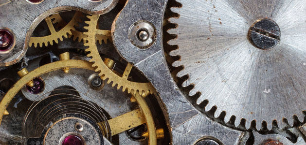 image of connected gears